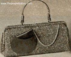 Wool Tweed Bag 1958