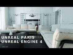 """""""Unreal Paris"""" is not an actual contemporary Parisian apartment, but it looks nice! This shockingly realistic apartment was rendered with the Unreal Engine 4 by Tadao Ando, Interior Architecture, Interior And Exterior, Interior Design, Virtual Tour, Virtual Reality, Loft Studio, Unreal Engine, House And Home Magazine"""