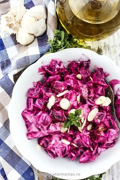 Healthy Salad Recipes, Vegetarian Recipes, Cooking Recipes, European Cuisine, Romanian Food, Diy Food, Soul Food, Cabbage, Food And Drink