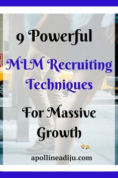 An elaborate step by step guides on how to become an MLM recruiting star and grow your network marketing business to success You looking for help get going a mlm business? Marketing En Internet, Business Marketing, Online Marketing, Business Tips, Digital Marketing, Mobile Marketing, Media Marketing, Amway Business, Business Networking