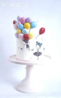Balloon Cake thatbakinggirl | My Gallery