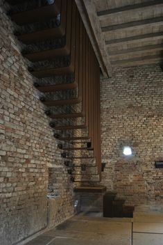 Interventions designed by Carlo Scarpa in the castle complex originally built in 1350s.