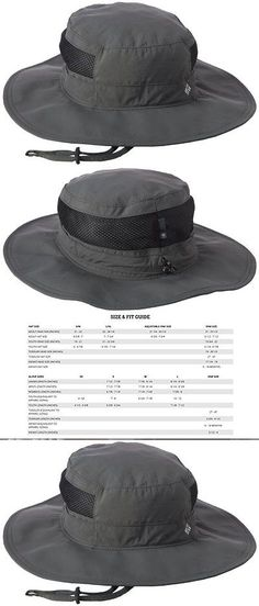 b9f95deb80d Hats and Headwear 70810  New Columbia Mens Bora Bora Booney Ii Sun Fishing  Hat Grill - One Size BUY IT NOW ONLY   36.62