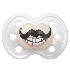 Baby Moustache Pacifier
