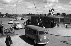 Most people who have ever owned a Volkswagen Beetle or, say, an early, split-windshield VW bus or even a Karmann Ghia will swear that those . Volkswagen Transporter, Transporteur Volkswagen, Volkswagen Bus, Vw T1, Vw Camper, Volkswagen Factory, Campers, Samba, Combi T1