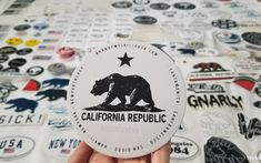California republic brandy Melville sticker Brandy Melville Stickers, Preppy Stickers, California Republic, Summer, Summer Time, Summer Recipes