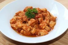 Csirkemell pörkölt Easy Entertaining, Shrimp, Curry, Goodies, Food And Drink, Meat, Chicken, Ethnic Recipes, Drinks