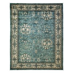 """Oushak Collection Oriental Rug, 9'6"""" x 11'10"""""""