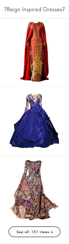 """♛Reign Inspired Dresses♛"" by fashion10496 ❤ liked on Polyvore featuring…"