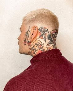 """Tattoos ~ Fashion ~ Portraits on Instagram: """"Show love and mind your business. It's a lifestyle ❤️"""" Fashion Portraits, Tattoo Inspiration, Skull, Lifestyle, Tattoos, Business, Instagram, Art, Art Background"""