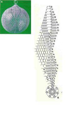 Witam:) To co wczoraj zobaczyłam na swojej tablicy na FB SZ Crochet Christmas Ornaments, Crochet Snowflakes, Holiday Crochet, Christmas Bells, Crochet Gifts, Christmas Crafts, Christmas Decorations, Crochet Motifs, Crochet Chart