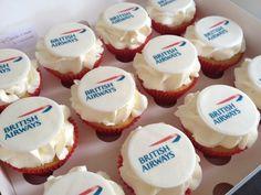 British Airways : cupcake toppers #travel #alookat #airlines