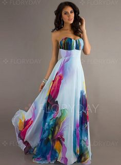 Vestidos - $40.99 - Vestidos Poliéster Bloques de colores Hasta los tobillos Sin mangas (1955118979)