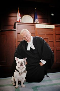 Judge Rinder & his dog Rocco Episode Screened on Monday 15th February 2016. (@JudgeRinderTV) on Twitter