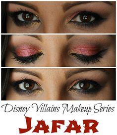 Wink for Pink: Disney Villains Makeup Series {Jafar} Makeup Monday Linky Party