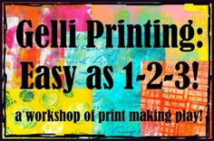 SEPT Creative Exchange:Gelli Printing 1-2-3 with Carolyn Dube Tickets, Mason | Eventbrite