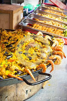 Paella Selling Street Market La Ciotat - Download From Over 24 Million High Quality Stock Photos, Images, Vectors. Sign up for FREE today. Image: 41109819