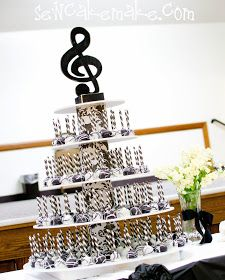 Music themed refreshments