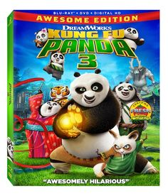 Kung Fu Panda 3 Awesome Edition Blu-ray Giveaway #PandaInsiders - Mom Knows It All.#comment-145437