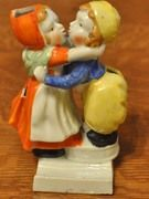 SALE Dutch Boy - Girl Toothbrush Holder from Daisy Antiques on Ruby Lane