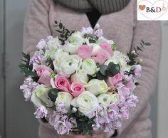 Fresh Flower Bouquet - Rosie Austin (Foliage Version)