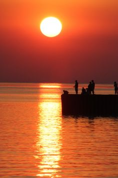 Spent many an evening fishing on the pier with my dad...at Bayfield, Ontario
