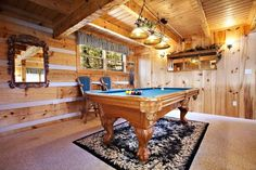 Awesome View has a pool table for you and your loved one to enjoy