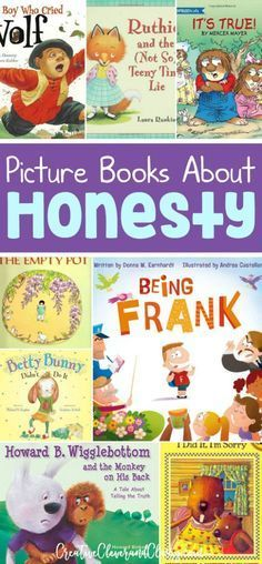 Stories can bring lessons to life for kids. Teach young kiddos the virtue of honesty with these quality honesty picture books. Stories can bring lessons to life for kids. Teach young kiddos the virtue of honesty with these quality honesty picture books. Kids Reading, Teaching Reading, Teaching Kids, Reading Books, Reading Lists, Teaching Resources, Preschool Books, Book Activities, Sequencing Activities