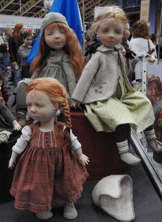 Куклы и снова Куклы. Весенний Бал. Тишинка 2017. / Выставка кукол - обзоры, репортажи, информация, фото / Бэйбики. Куклы фото. Одежда для кукол