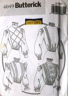 FANCY DRESS - EARLY 20th CENTURY BLOUSE