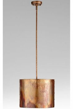 Mauviel Pendant; I love copper fixtures and sinks and TUBS!