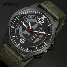 World Peace Keeper - Infantry Military - Timepieces - SA's #1 Shopping Boutique