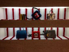 LK By Lincoln Keung: FENDI Window Display - The LANDMARK - Hong Kong