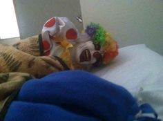 Whoever did this to their sleeping roommate. | 23 Worst Friends Anyone Could Ask For