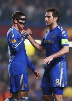 Fernando Torres and Frank Lampard Photos Photos: Chelsea v FC Basel Chelsea Squad, Chelsea Fans, Chelsea Football, Fc Basel, Fc 1, Stamford Bridge, Europa League, Love Affair, Football Players
