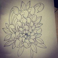 Another snake chest/sleeve for tomorrow . Koi Tattoo Design, Sketch Tattoo Design, Flower Tattoo Designs, Tattoo Designs Men, Flower Tattoos, Japanese Flower Tattoo, Japanese Flowers, Flower Outline, Flower Art