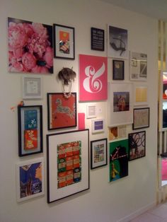 love the inspiration wall - would be good to have rotating inserts!  use ikea frames to make cheap cheap cheap