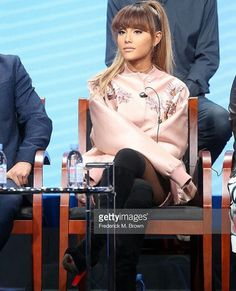 ARIANA GRANDE AT THE HAIRSPRAY LIVE PANEL DISCUSSION #KIMILOVEE #THEWIFE