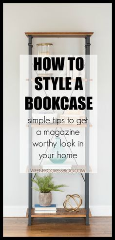 How to Style a Bookc