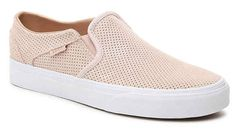 😍I'm loving these Vans perforated slip on sneakers- so cute and perfect for Spring!🌷 👉 http://shopstyle.it/l/xBv8  #affiliatelink