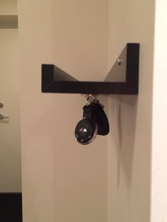IKEA hack with magnets for key holder. Shelf would be great for keeping sunglasses!