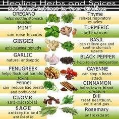 People derive a greater benefit when they use #herbs and #foods common to the #earth,