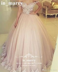 Blush Pink Off Shoulder Ball Gown Prom Dresses 2017 Vintage Lace Puffy Tulle Skirt Plus Size African Arabic Sweet 16 Formal Quinceanera Gown 2017 Prom Dresses Dresses Party Evening Long Prom Dresses Online with $216.0/Piece on In_marry's Store | DHgate.com