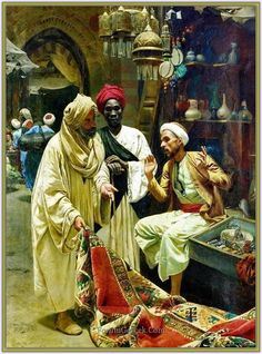 Rudolf Swoboda (1859 - 1914) | Avusturyalı Oryantalist Ressam - Forum Gerçek