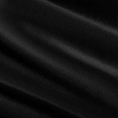 "108"" 40 Denier Tricot Black from @fabricdotcom  This semi-sheer tricot is appropriate for lingerie or lining especially knits. It has about 50% stretch across the grain for added comfort and ease."