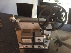 BELL & HOWELL 458A DUAL 8mm Movie Film PROJECTOR #BellHowell