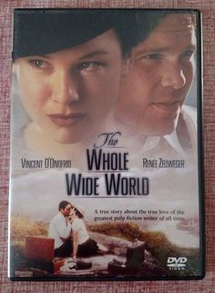 The Whole Wide World (DVD, 2003) Vincent D'Onofrio & Renee Zellweger - Drama
