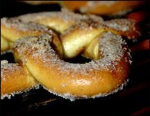 """""""The sweetest Cinn"""" lol Cinnamon sugar pretzels! and at only 175 calories this would definitely be a good options for """"one of those days"""""""
