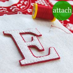 good looking monogrammed stocking how to