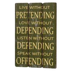 Pretending Wooden 4 Plank Wall Plaque --- Quick Info: Price £22.50 This green and ivory three plank effect wooden plaque is a perfect family piece of wall art for a kitchen or hall. --- Available from Roman at Home. Images Copyright www.romanathome.com